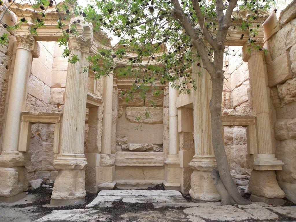 Temple de Baalshamîn, l'intérieur de la cella, Palmyre, Syrie