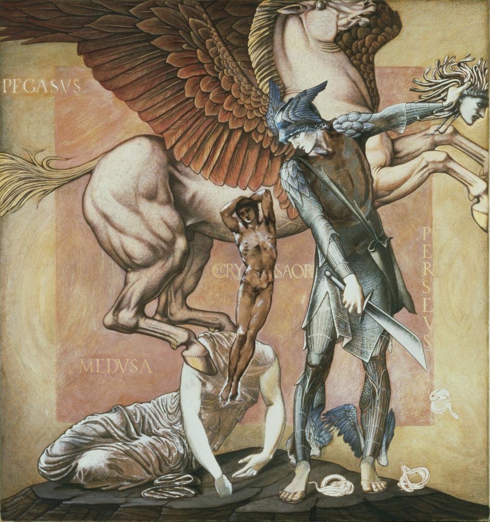 The Death of Medusa I, c.1876