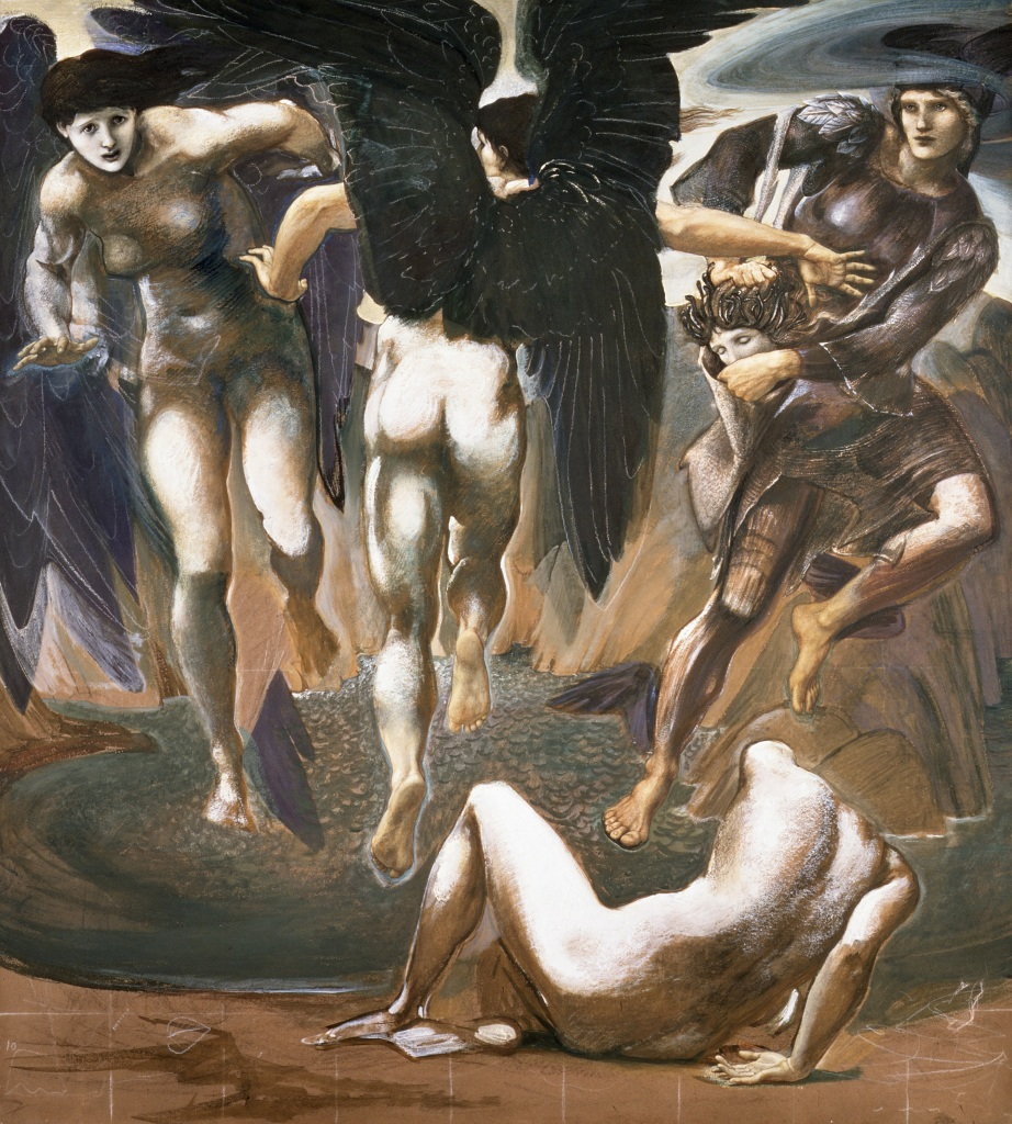 The Death of Medusa II, 1882