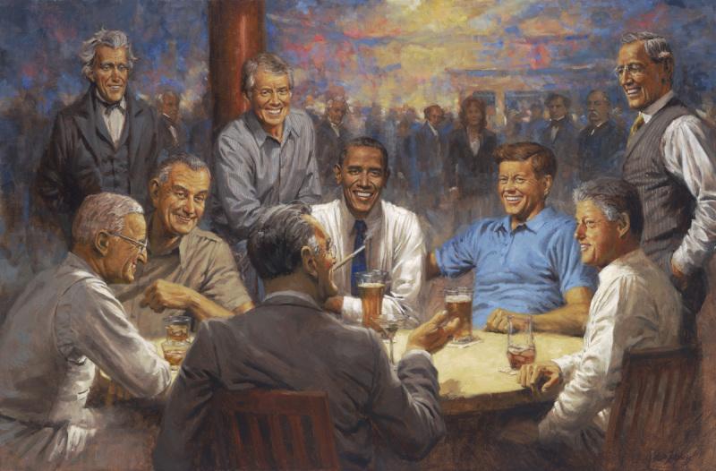 The Democratic Club, (c) Andy Thomas, tous droits réservés