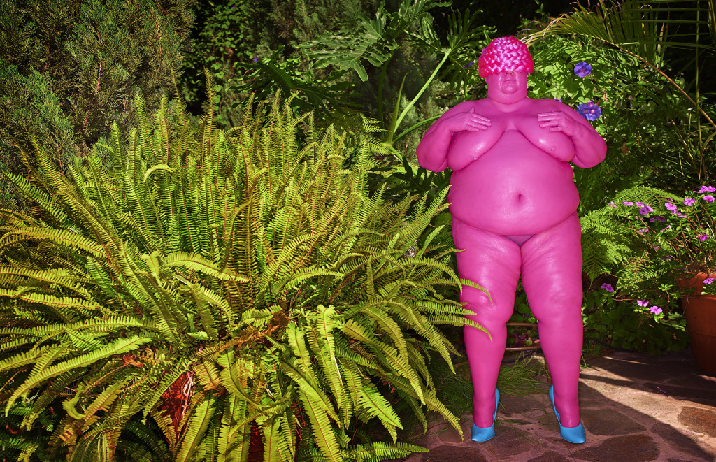 Venus of Willendorf(Pink), 2016, Impression pigmentaire / pigment print, 76 x 112cm