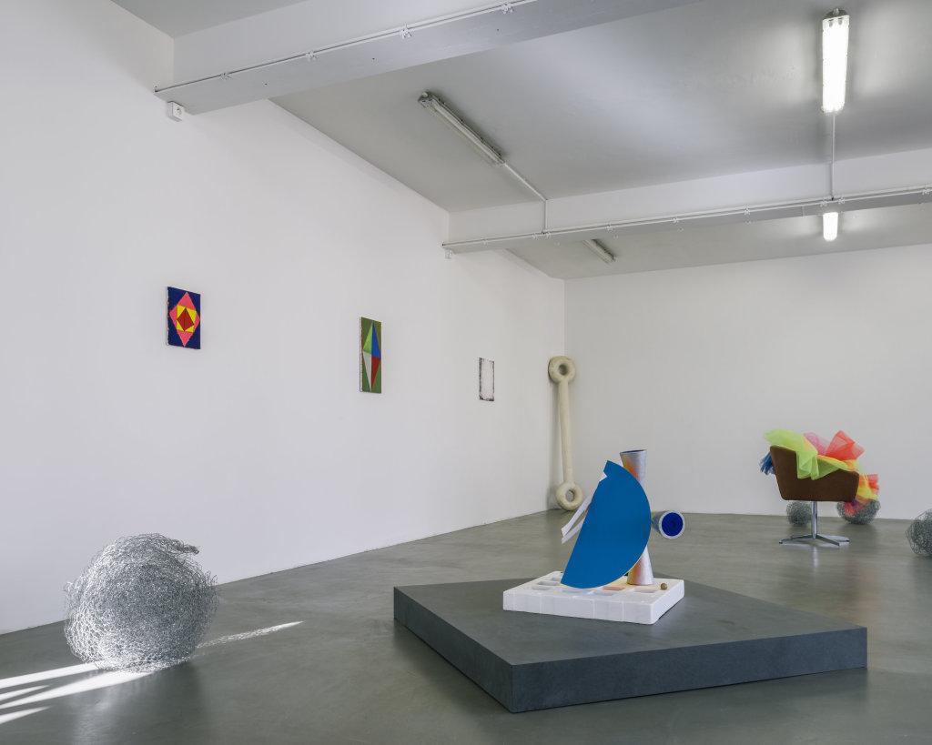 Vue de l'exposition Delphine Coindet, Ventile, 2018 - Le Portique centre régional d'art contemporain du Havre (10)