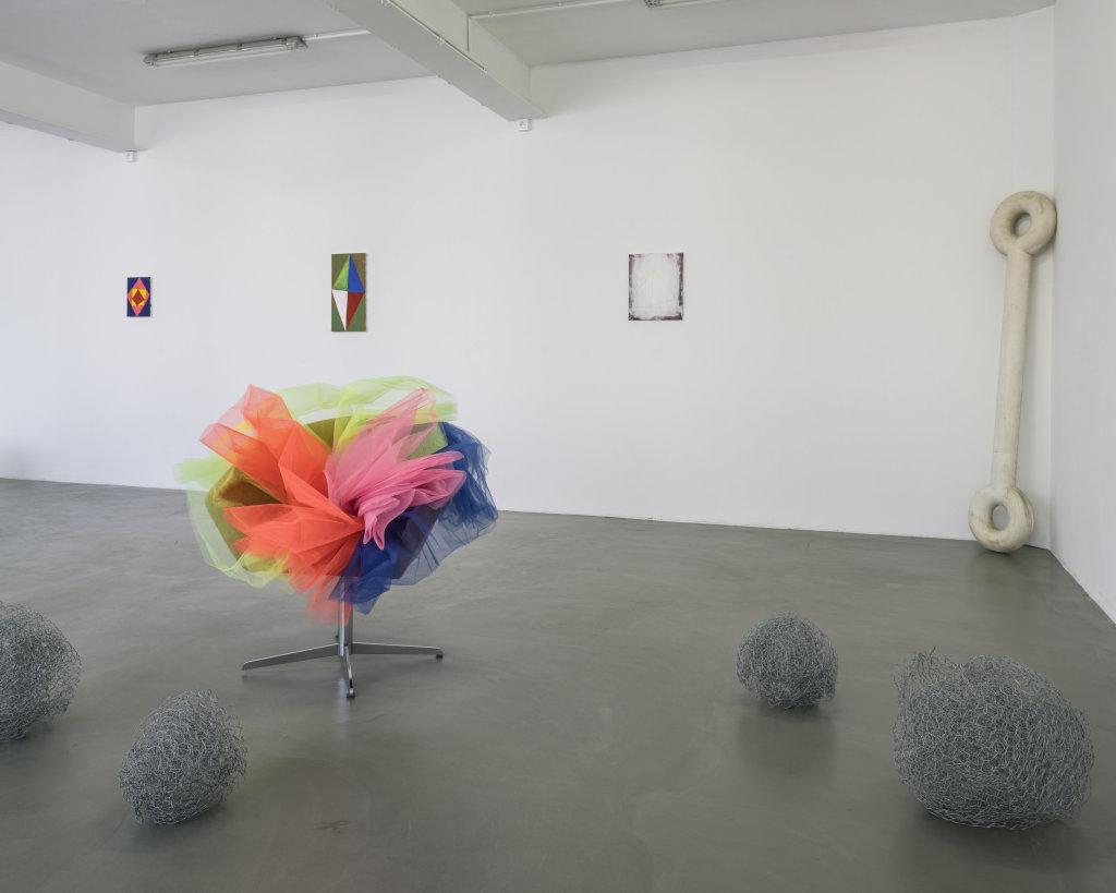 Vue de l'exposition Delphine Coindet, Ventile, 2018 - Le Portique centre régional d'art contemporain du Havre (11)