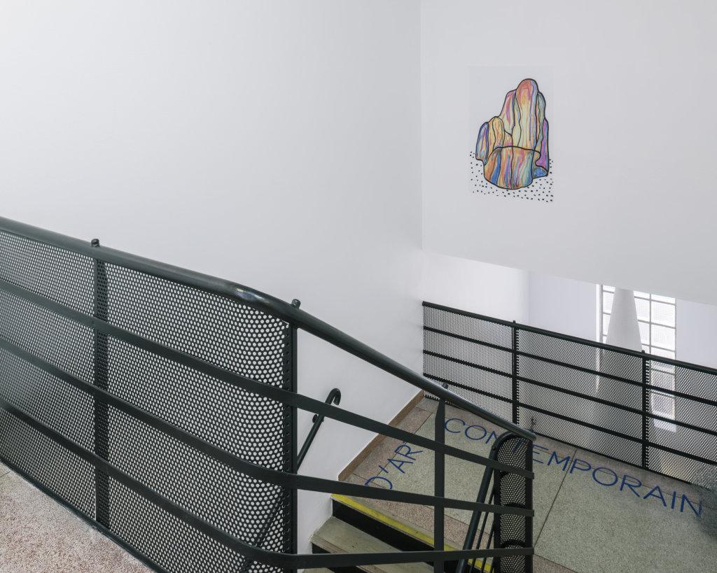 Vue de l'exposition Delphine Coindet, Ventile, 2018 - Le Portique centre régional d'art contemporain du Havre (12)