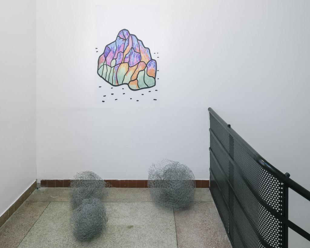 Vue de l'exposition Delphine Coindet, Ventile, 2018 - Le Portique centre régional d'art contemporain du Havre (13)
