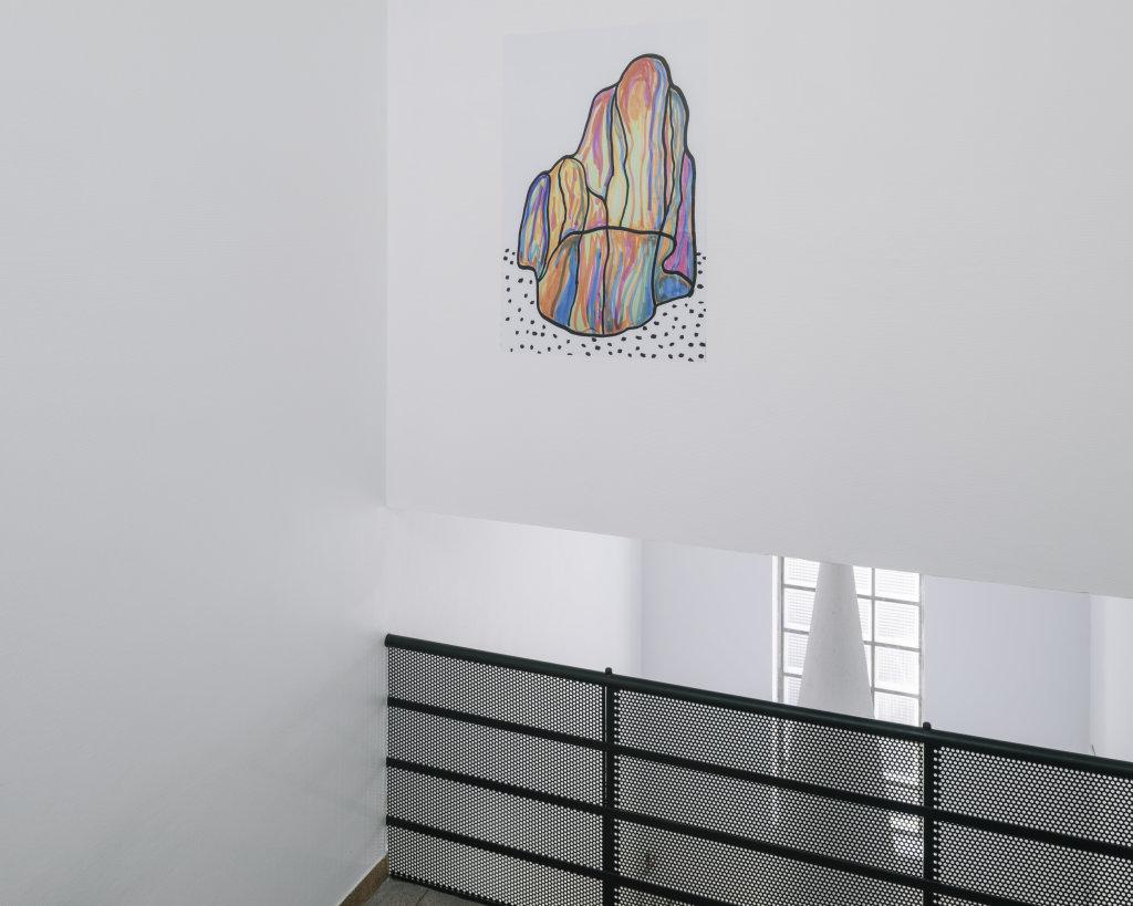 Vue de l'exposition Delphine Coindet, Ventile, 2018 - Le Portique centre régional d'art contemporain du Havre (14)