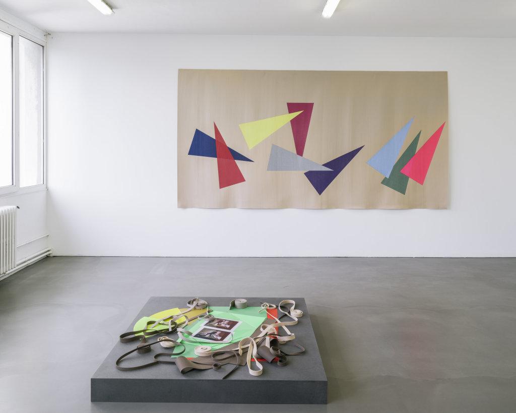 Vue de l'exposition Delphine Coindet, Ventile, 2018 - Le Portique centre régional d'art contemporain du Havre (15)