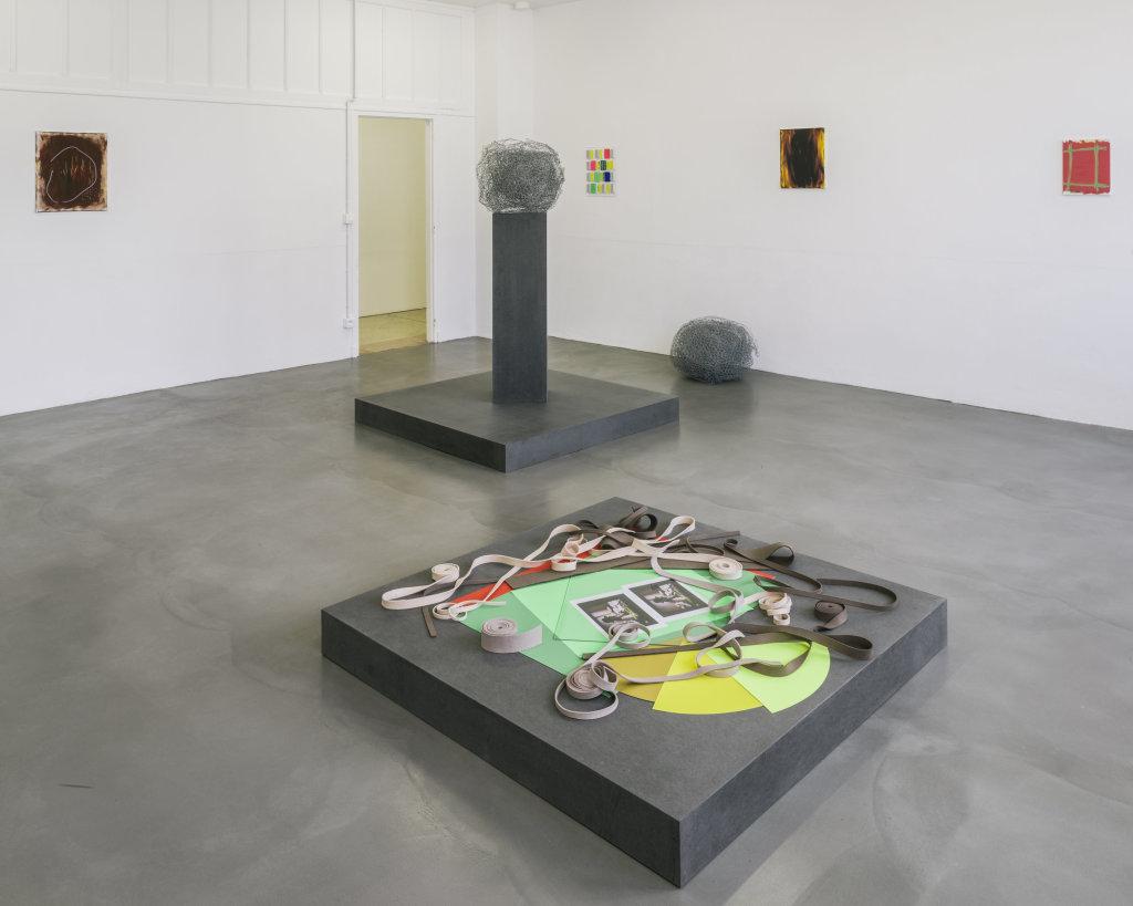 Vue de l'exposition Delphine Coindet, Ventile, 2018 - Le Portique centre régional d'art contemporain du Havre (16)