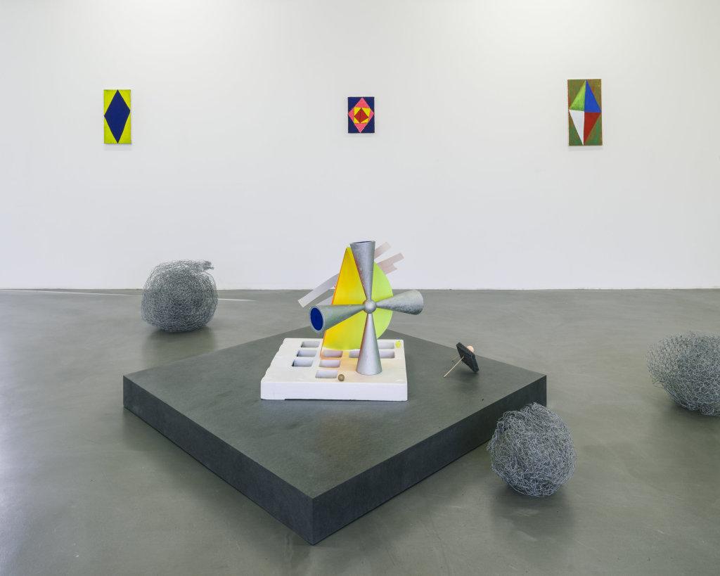 Vue de l'exposition Delphine Coindet, Ventile, 2018 - Le Portique centre régional d'art contemporain du Havre (18)