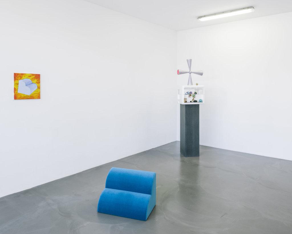 Vue de l'exposition Delphine Coindet, Ventile, 2018 - Le Portique centre régional d'art contemporain du Havre (19)
