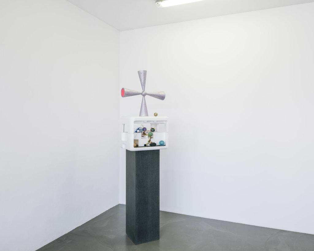 Vue de l'exposition Delphine Coindet, Ventile, 2018 - Le Portique centre régional d'art contemporain du Havre (20)