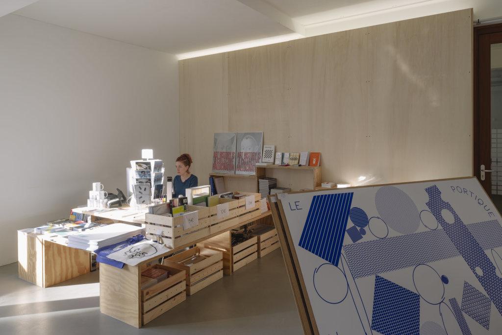 Vue de l'exposition Delphine Coindet, Ventile, 2018 - Le Portique centre régional d'art contemporain du Havre (27)