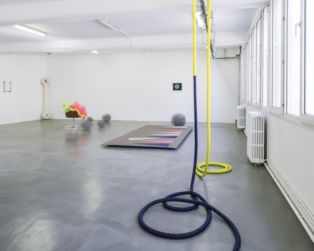 Vue de l'exposition Delphine Coindet, Ventile, 2018 - Le Portique centre régional d'art contemporain du Havre (3)