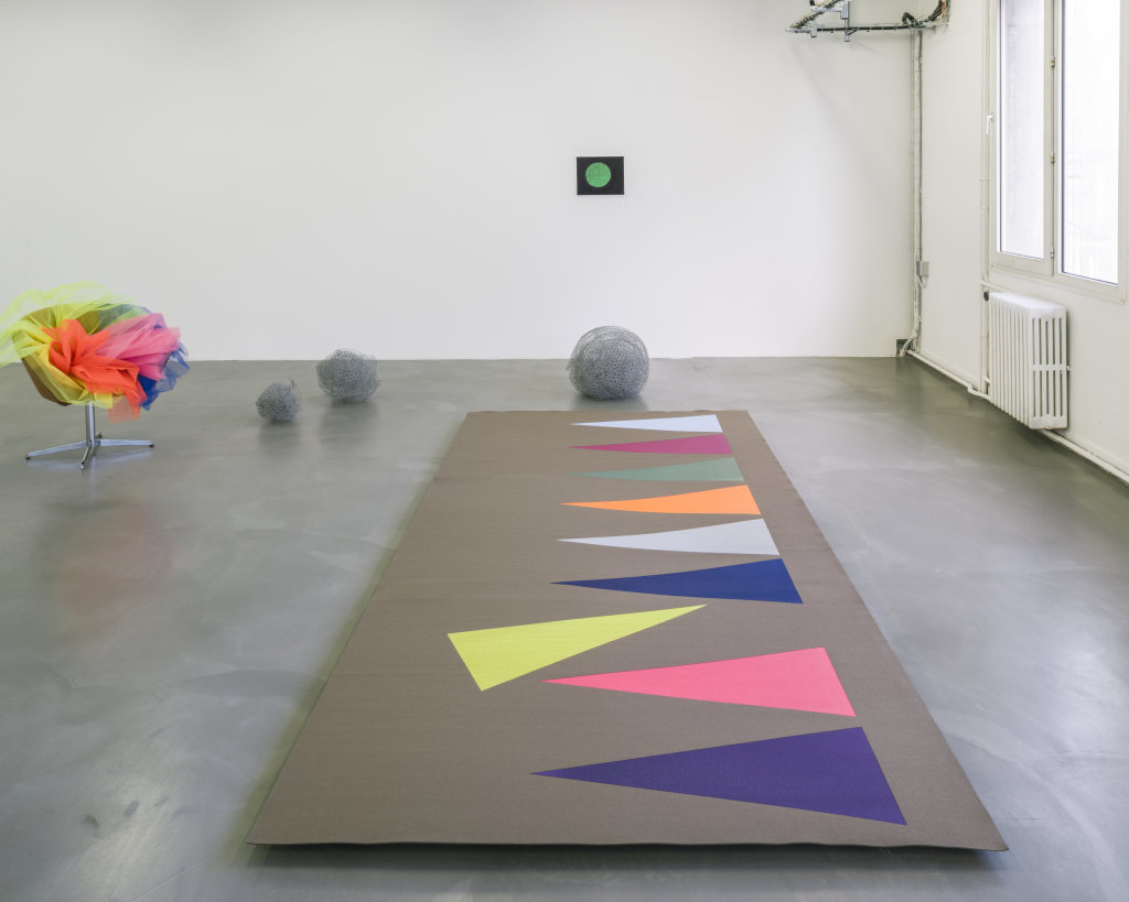 Vue de l'exposition Delphine Coindet, Ventile, 2018 - Le Portique centre régional d'art contemporain du Havre (6)