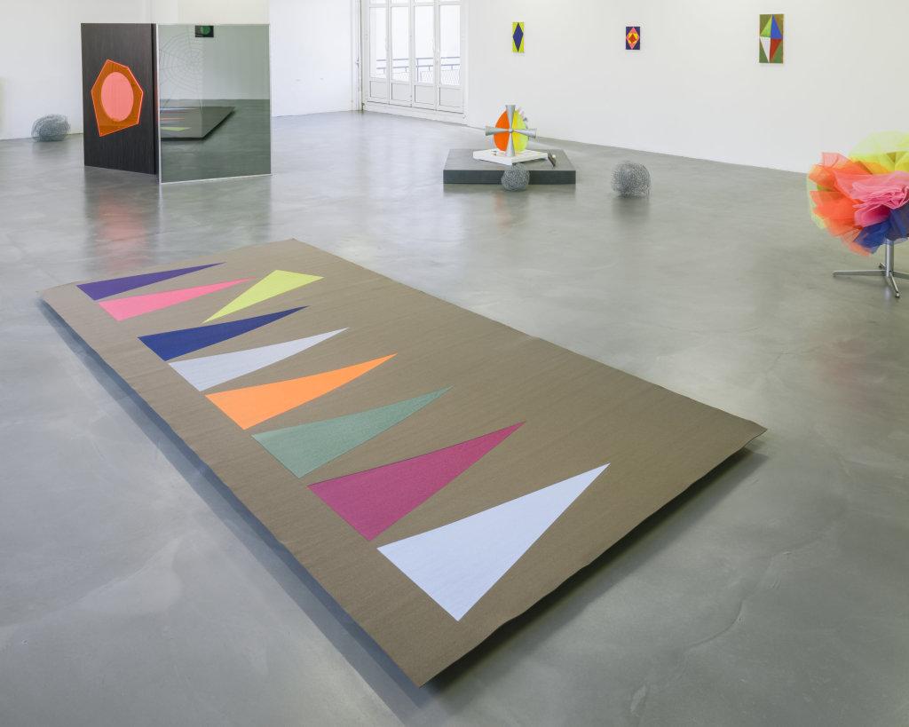 Vue de l'exposition Delphine Coindet, Ventile, 2018 - Le Portique centre régional d'art contemporain du Havre (7)