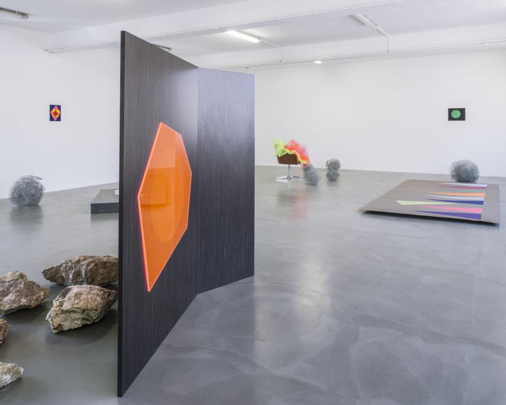 Vue de l'exposition Delphine Coindet, Ventile, 2018 - Le Portique centre régional d'art contemporain du Havre (8)