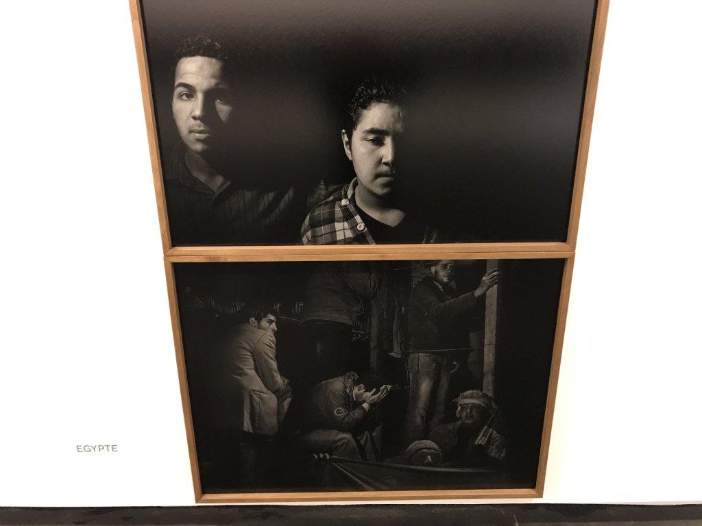 Vue de l'exposition Alex Majoli, scene - Le Bal - Paris (19)