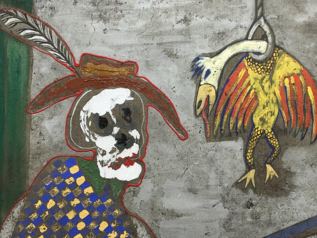 Vue de l'exposition André Cervera - Galerie Frédéric Roulette (1)