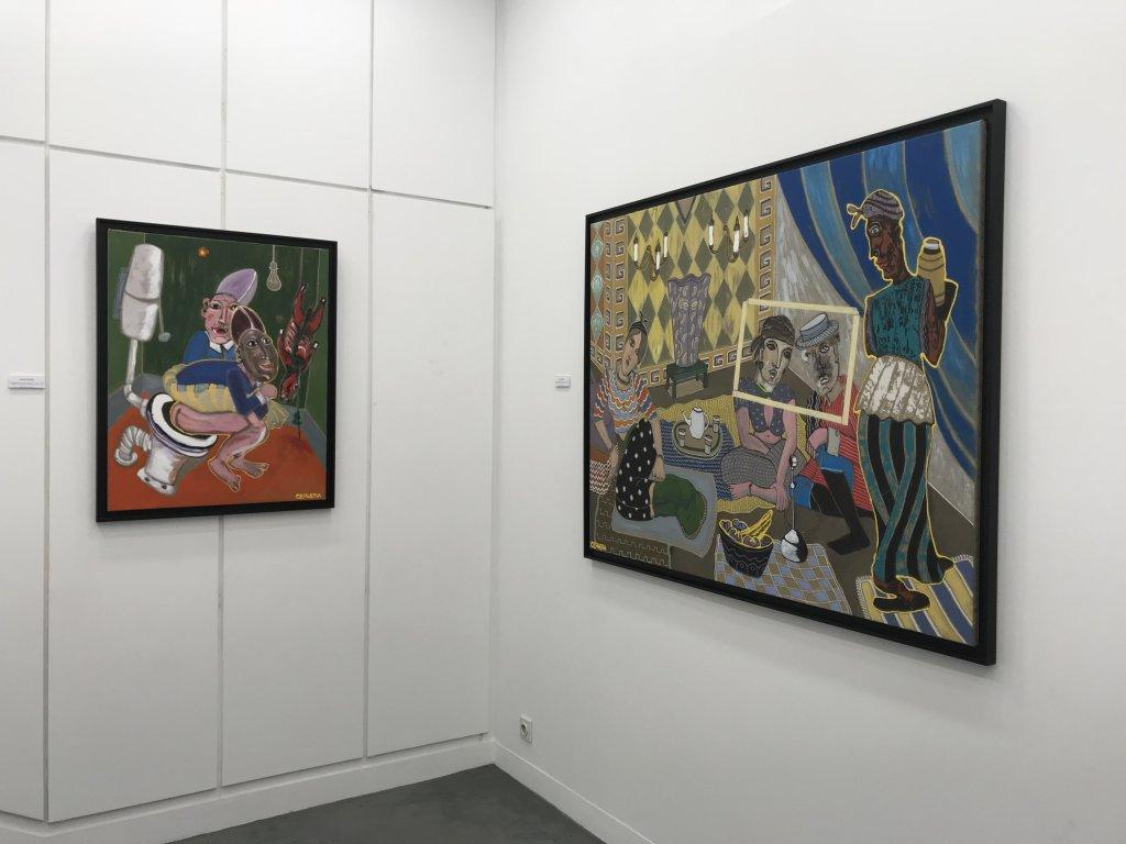 Vue de l'exposition André Cervera - Galerie Frédéric Roulette (12)