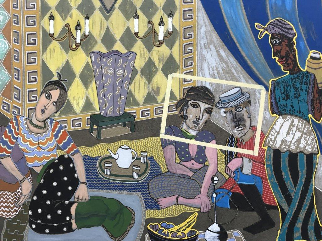 Vue de l'exposition André Cervera - Galerie Frédéric Roulette (13)