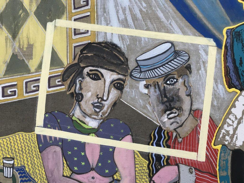 Vue de l'exposition André Cervera - Galerie Frédéric Roulette (14)