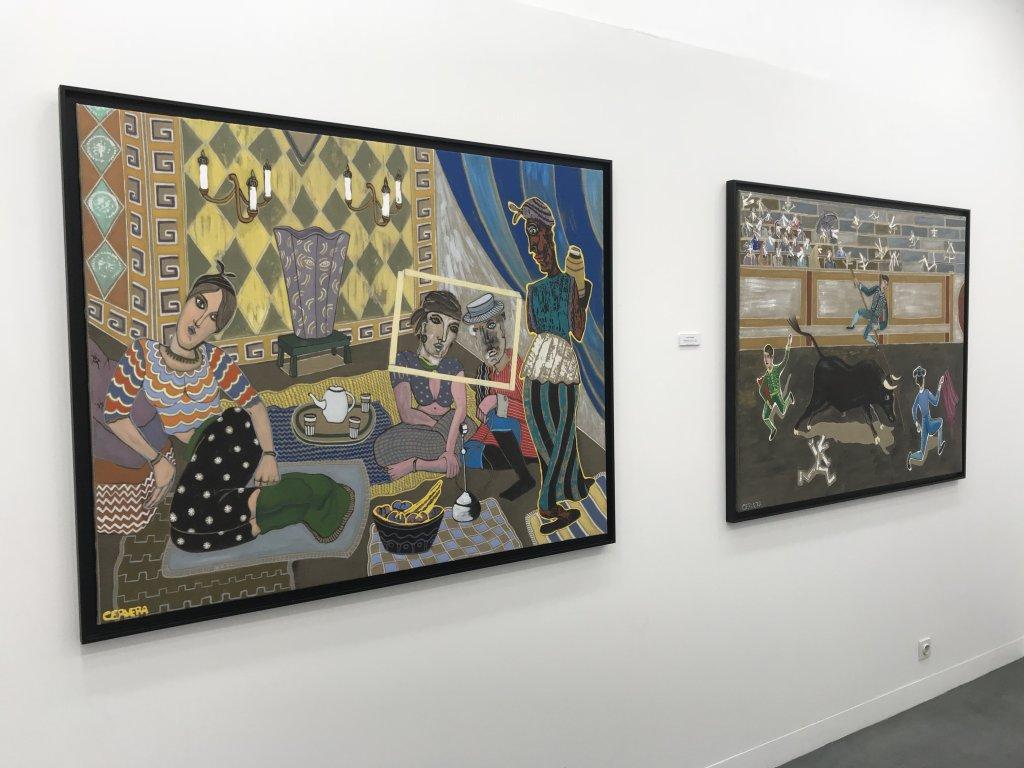 Vue de l'exposition André Cervera - Galerie Frédéric Roulette (17)