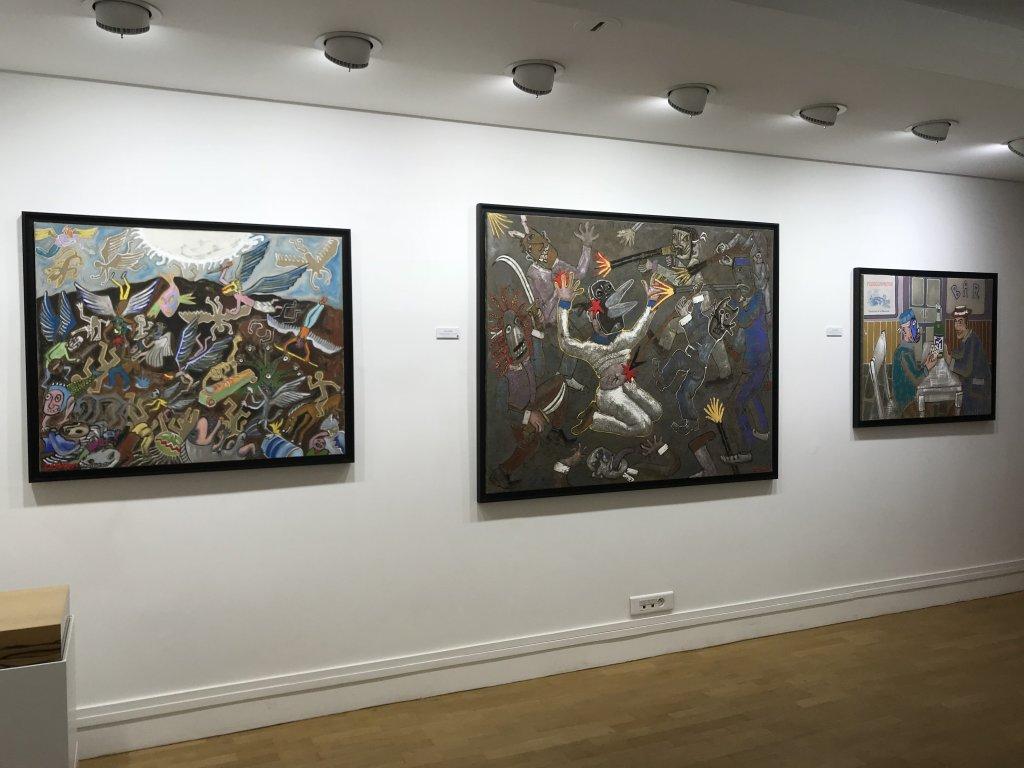 Vue de l'exposition André Cervera - Galerie Frédéric Roulette (19)