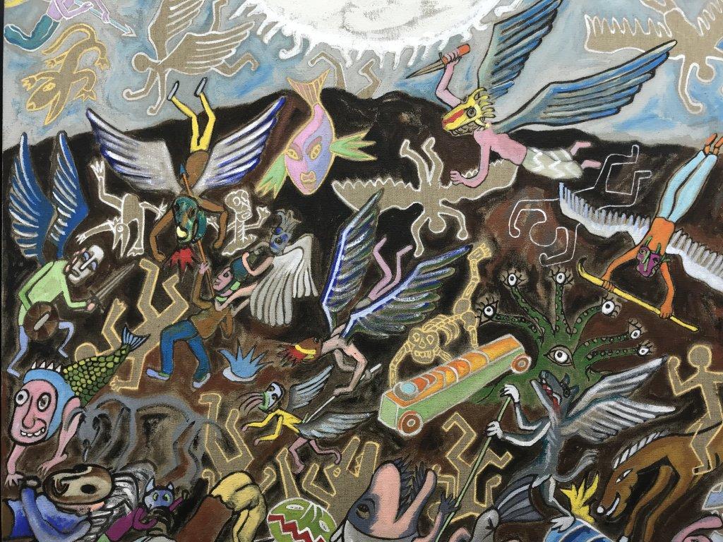 Vue de l'exposition André Cervera - Galerie Frédéric Roulette (20)