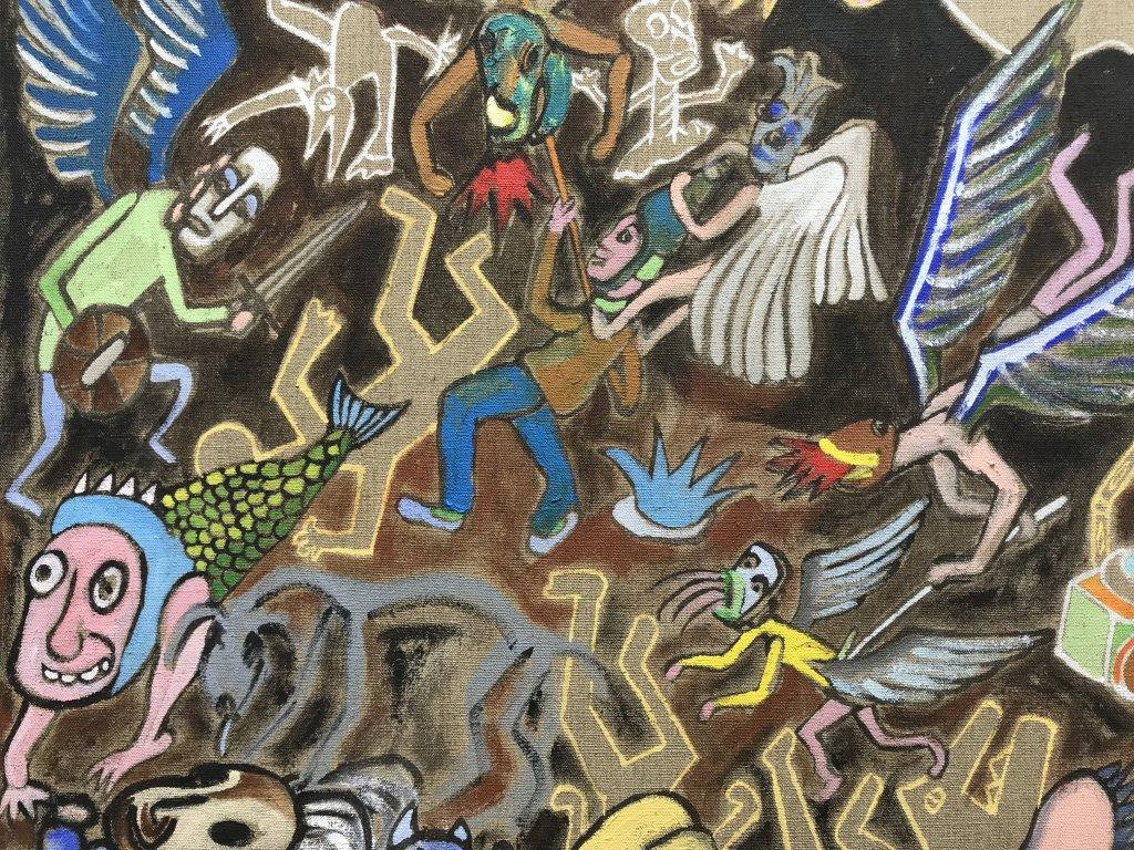 Vue de l'exposition André Cervera - Galerie Frédéric Roulette (21)