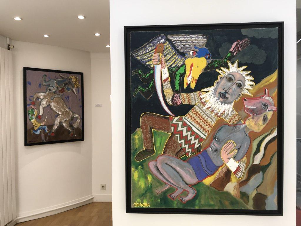 Vue de l'exposition André Cervera - Galerie Frédéric Roulette (25)