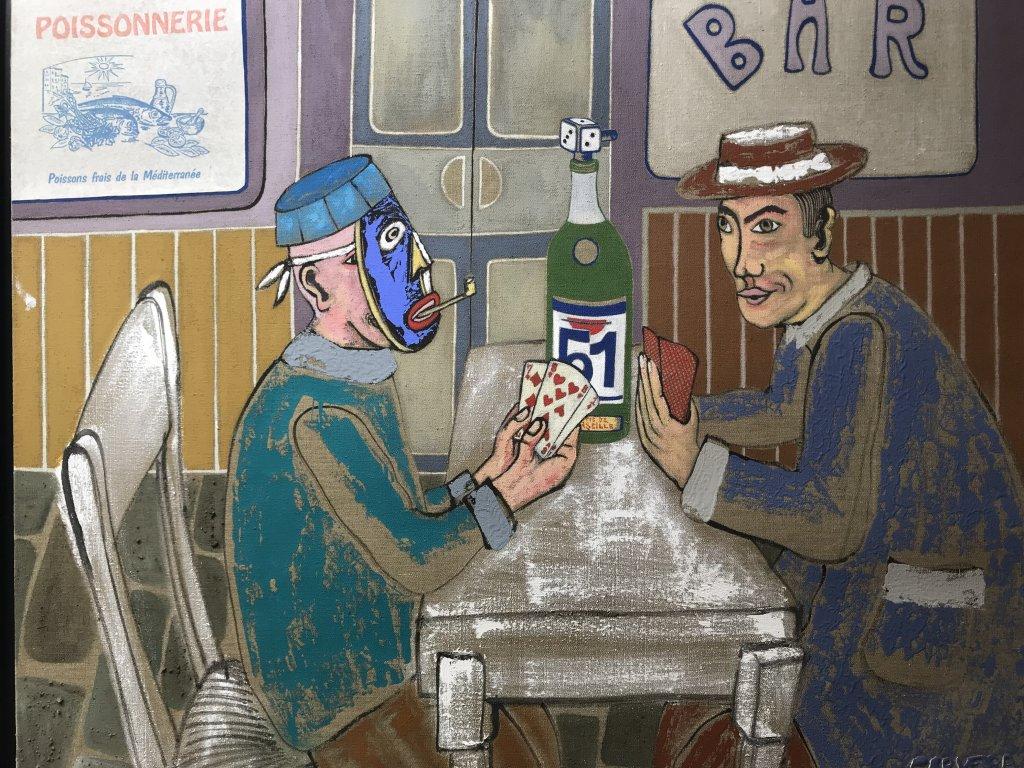 Vue de l'exposition André Cervera - Galerie Frédéric Roulette (27)
