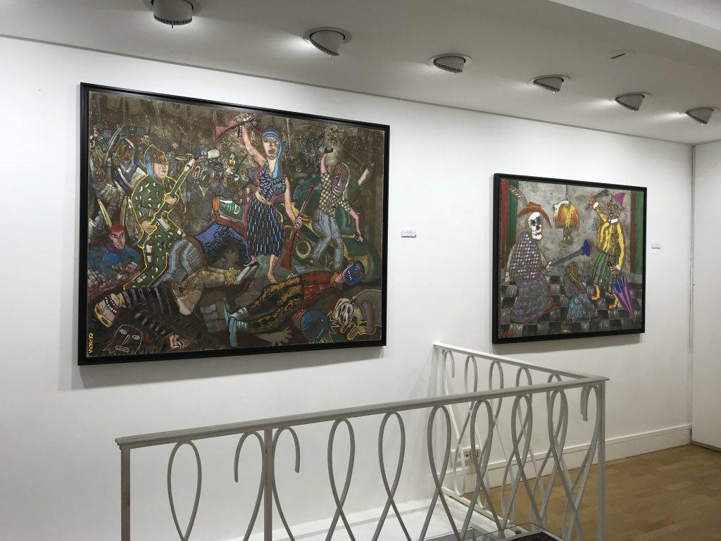 Vue de l'exposition André Cervera - Galerie Frédéric Roulette (29)