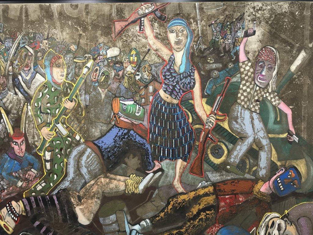 Vue de l'exposition André Cervera - Galerie Frédéric Roulette (30)