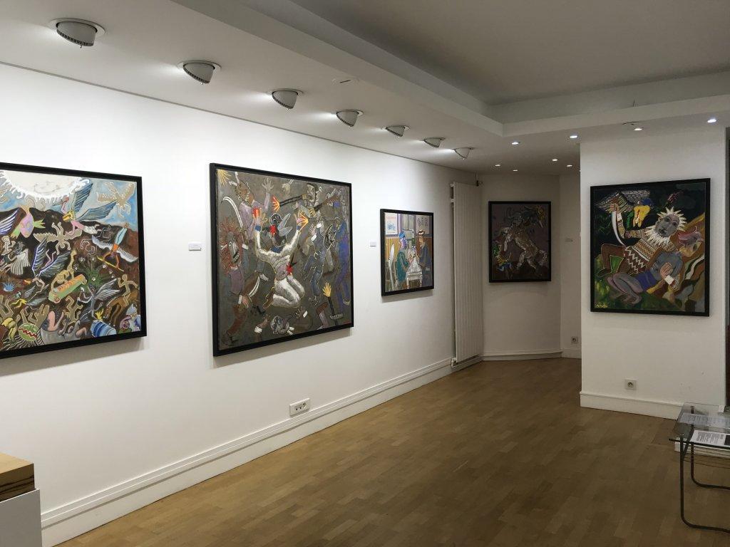 Vue de l'exposition André Cervera - Galerie Frédéric Roulette (4)