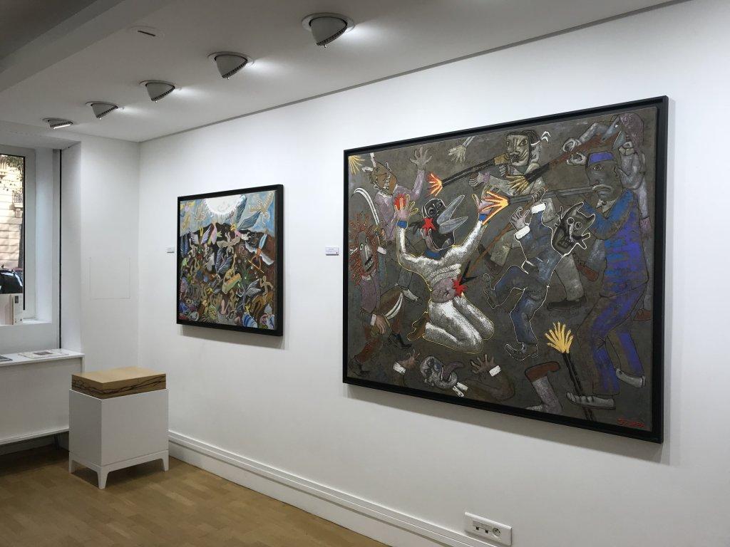 Vue de l'exposition André Cervera - Galerie Frédéric Roulette (5)