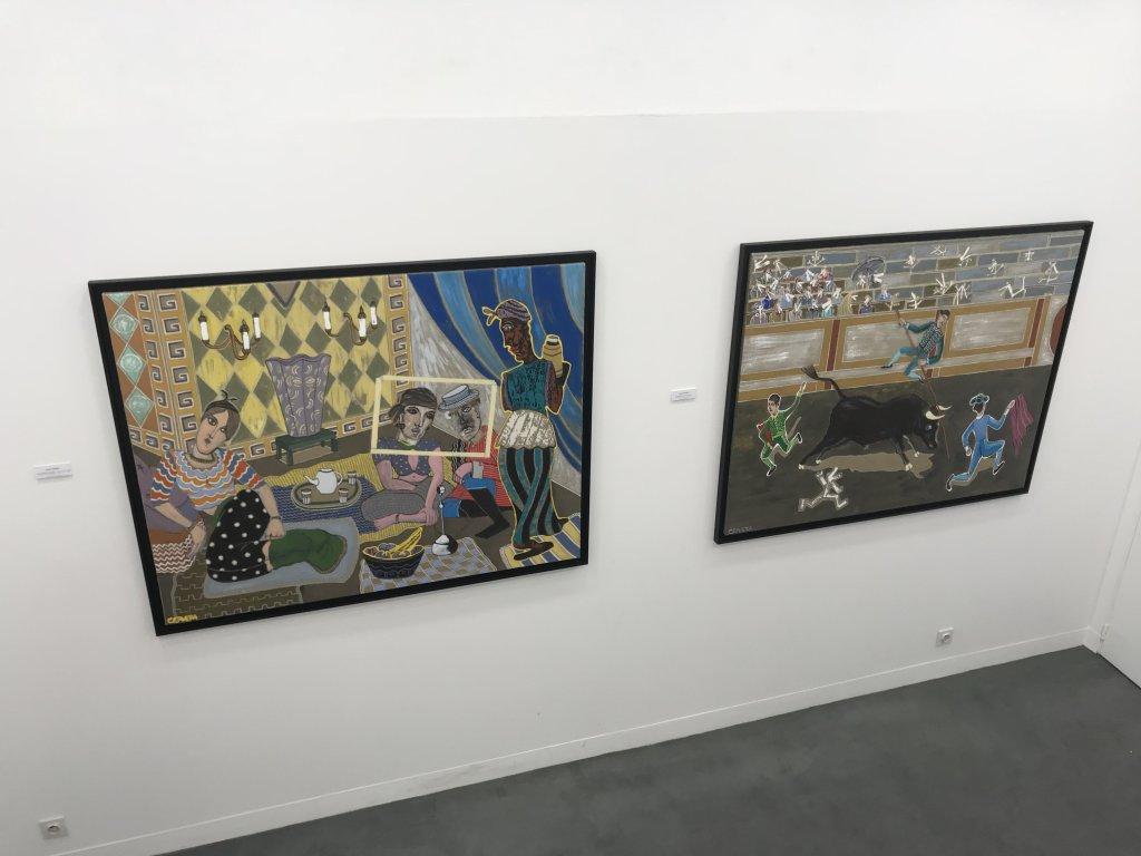 Vue de l'exposition André Cervera - Galerie Frédéric Roulette (6)