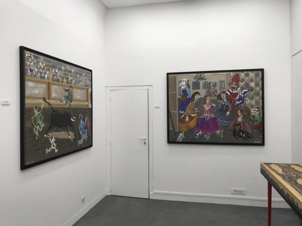 Vue de l'exposition André Cervera - Galerie Frédéric Roulette (7)