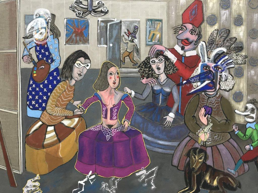 Vue de l'exposition André Cervera - Galerie Frédéric Roulette (8)