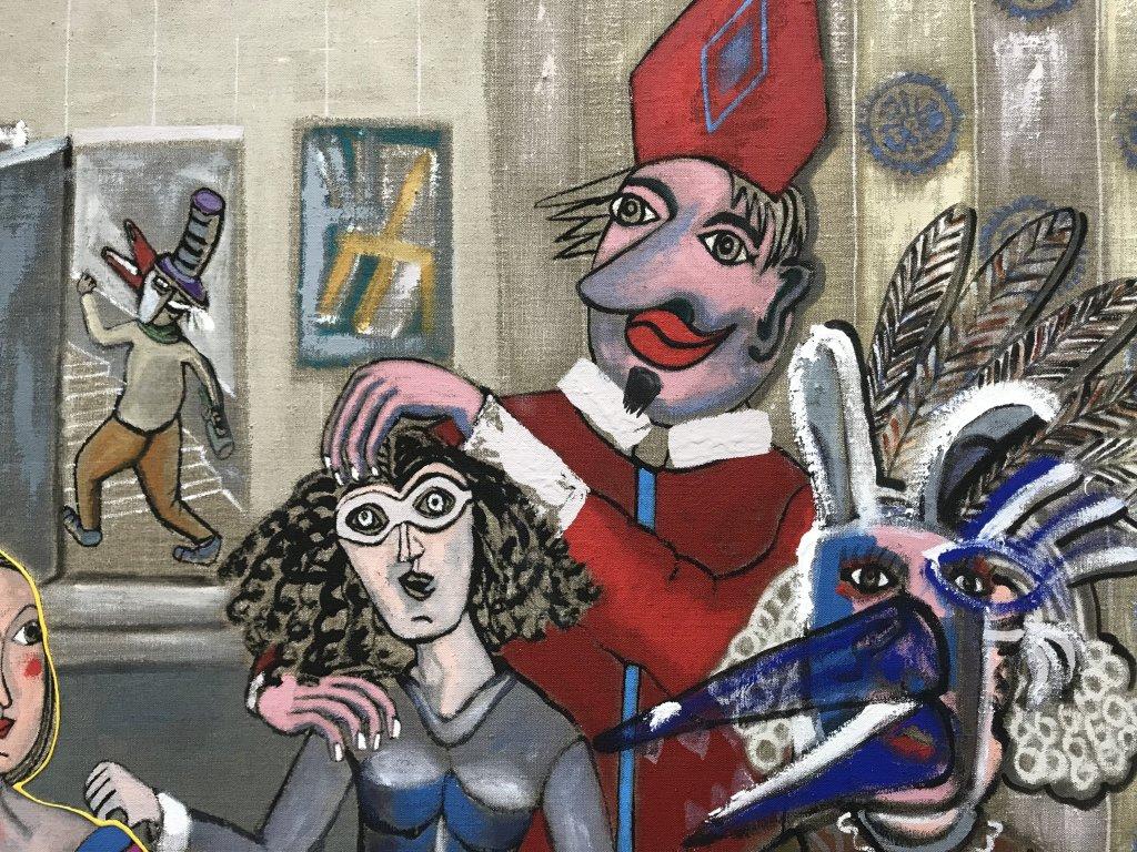 Vue de l'exposition André Cervera - Galerie Frédéric Roulette (9)
