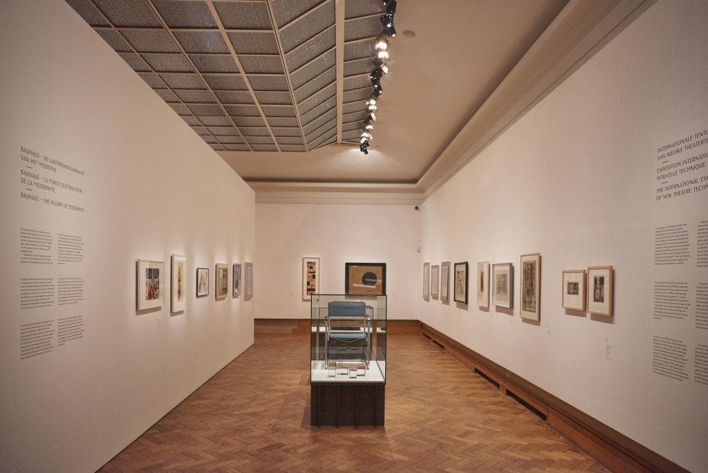 Vue de l'exposition Beyond Klimt, Bozar Bruxelles