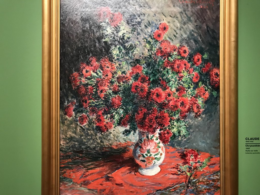 Vue de l'exposition Collections privées, un voyage des impressionnistes aux fauves - Musée Marmottan Monet