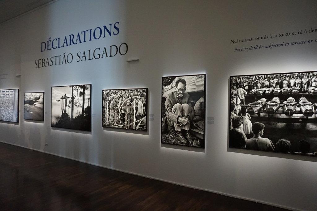 Vue de l'exposition Déclarations, Sebastião Salgado, Musée de l'Homme, Paris (13)