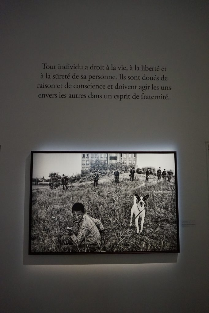 Vue de l'exposition Déclarations, Sebastião Salgado, Musée de l'Homme, Paris (14)