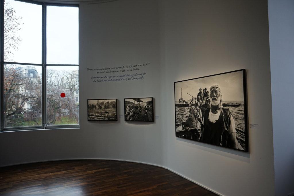 Vue de l'exposition Déclarations, Sebastião Salgado, Musée de l'Homme, Paris (15)