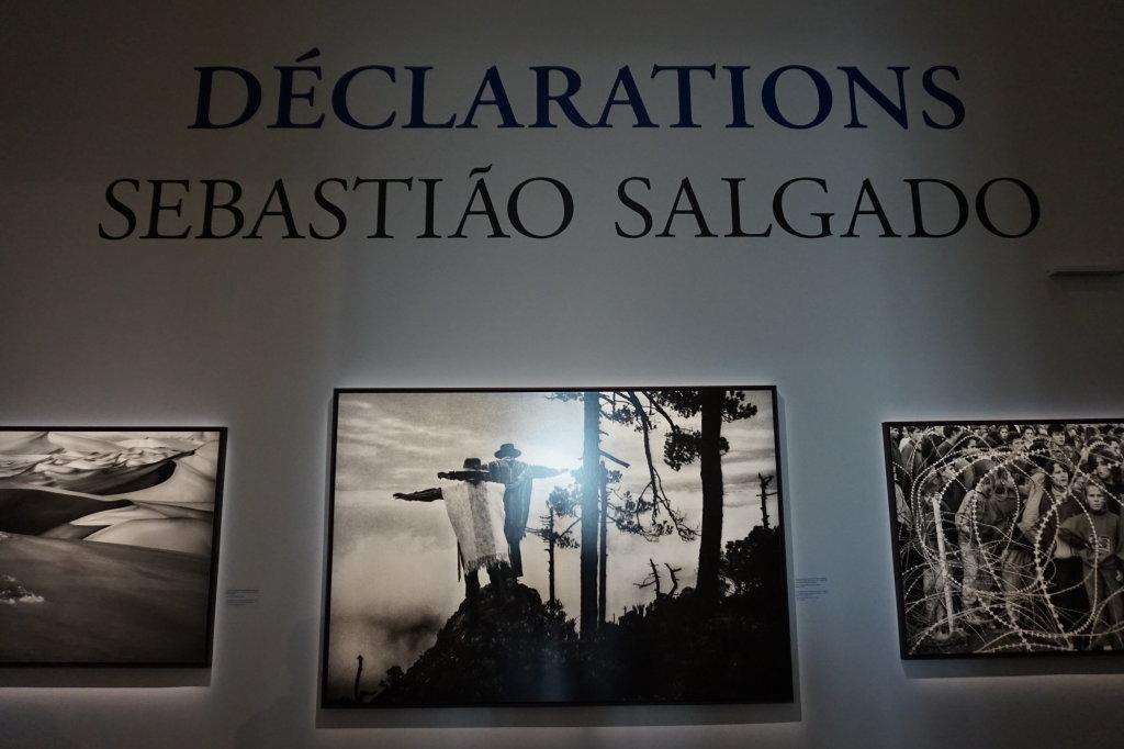 Vue de l'exposition Déclarations, Sebastião Salgado, Musée de l'Homme, Paris (4)
