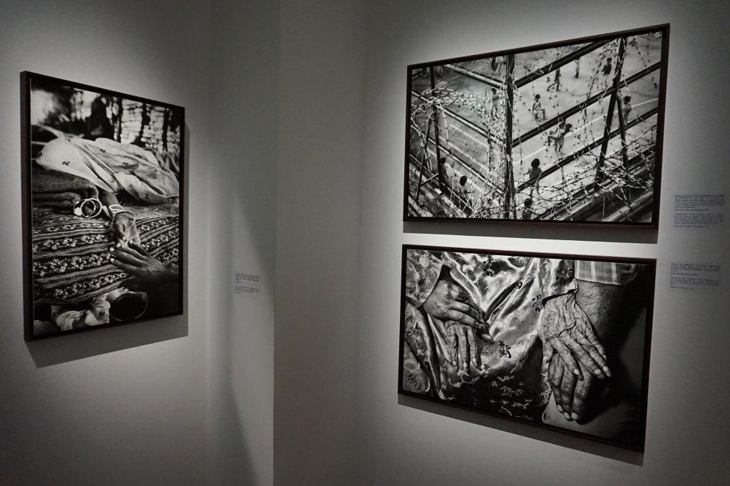 Vue de l'exposition Déclarations, Sebastião Salgado, Musée de l'Homme, Paris (6)