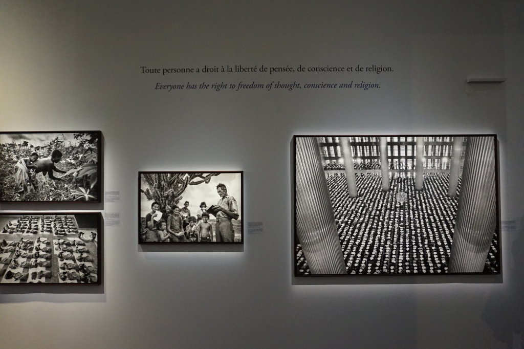 Vue de l'exposition Déclarations, Sebastião Salgado, Musée de l'Homme, Paris (8)