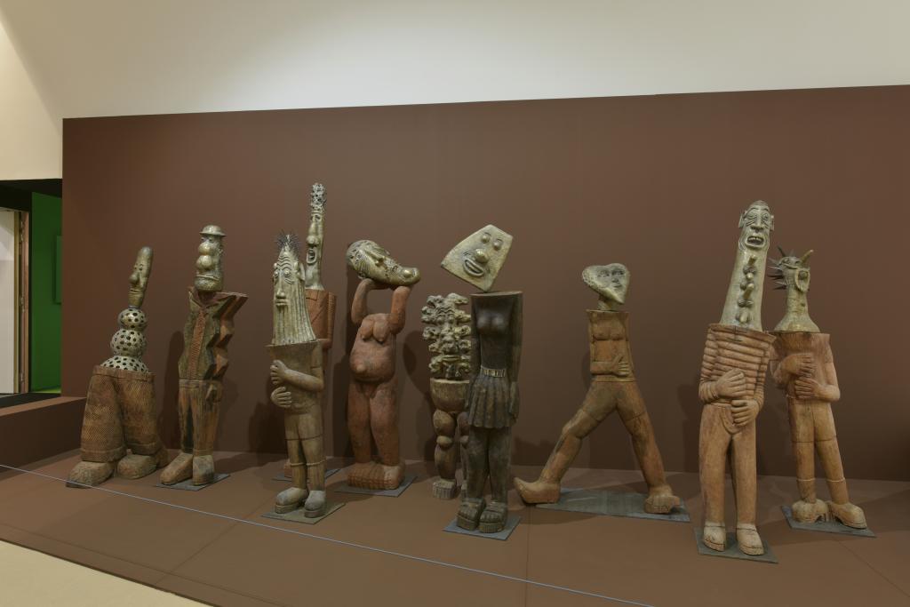 Vue de l'exposition Hervé Di Rosa à la Piscine de Roubaix (1)