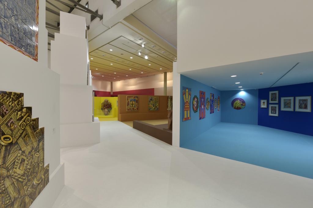 Vue de l'exposition Hervé Di Rosa à la Piscine de Roubaix (10)