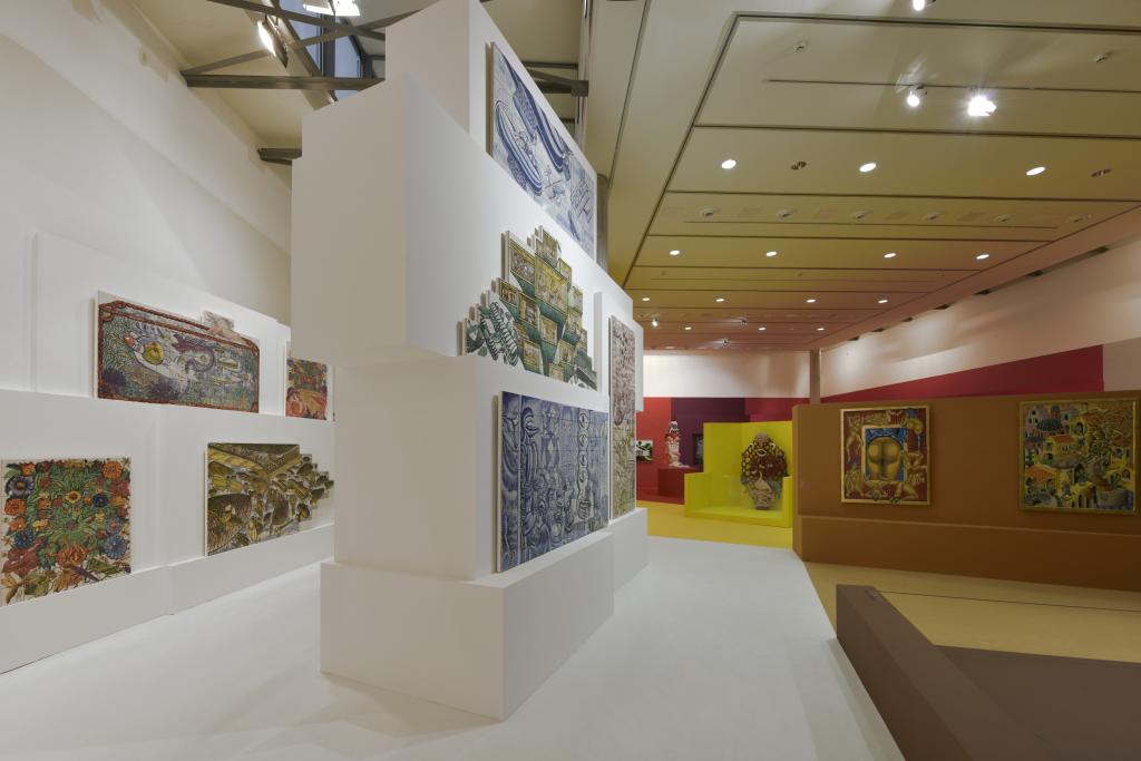 Vue de l'exposition Hervé Di Rosa à la Piscine de Roubaix (11)